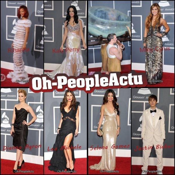 53rd Grammy Awards: Red Carpets ^^