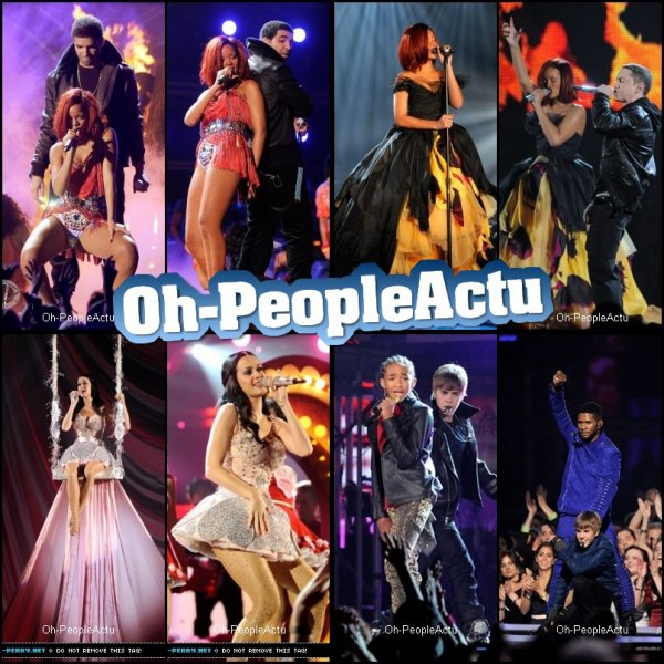 53rd Grammy Awards: Performances & Recompenses