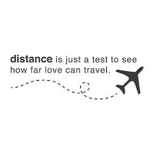 La distance..ou le virtuel comme beaucoup disent..