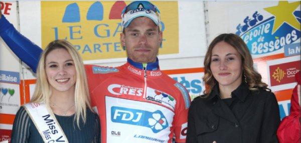 Troisième étape de l'Etoile de Bessèges le vendredi 02 février 2018.