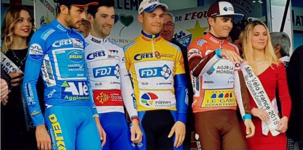 Tony Gallopin (AG2R La Mondiale) a remporté, ce dimanche, la cinquième et dernière étape de l'Etoile de Bessèges