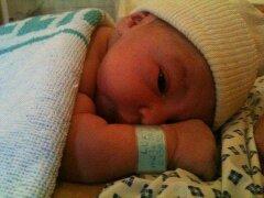 Voici mon 2 eme petit fils né ce jour