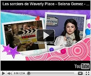. Découvrez trois nouvelles vidéos de Selena lorsqu'elle était à Paris pour la chaine télévisé Disney Channel France. Elle nous parle de sa musique et de son groupe, de son style/mode et de sa vie de tous les jours..