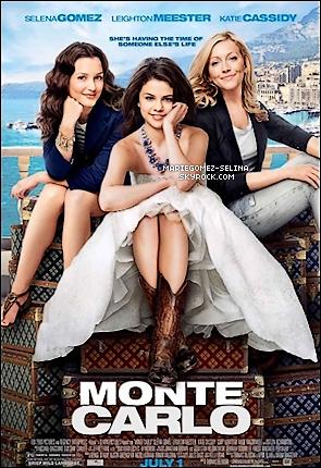 . Affiche du nouveau film de Selena Gomez « Monte Carlo » et plusieurs nouveaux stills. .