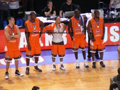 finale pro A Play off - juin 2010 - Bercy - Le Mans / Cholet
