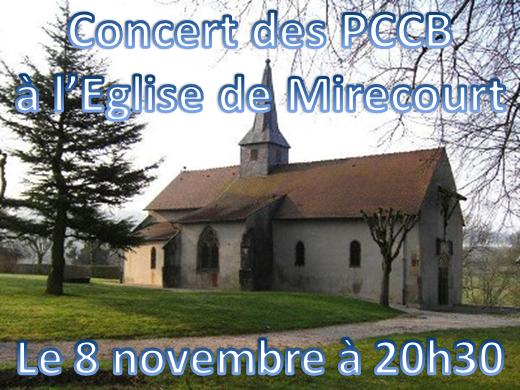 Concert du 8 novembre 2013 !