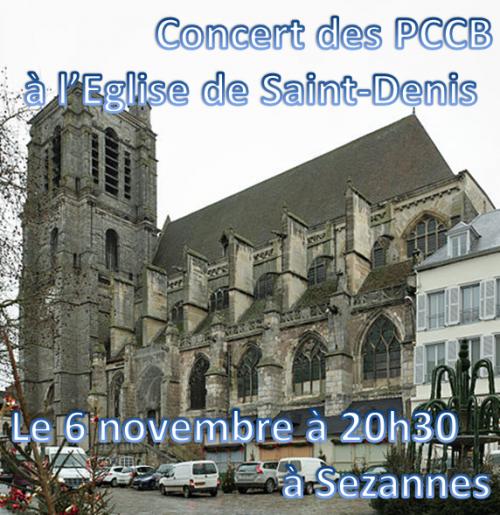 Concert du 6 novembre 2013 !