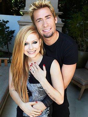 Avril Lavigne est mariée!  + relancement des rumeurs sur Jelena