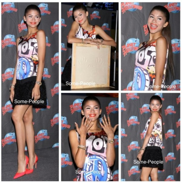 Zendaya pour la sortie de son single replay + Demi Lovato pour All Star Party 2013 de la FOX + Young Hollywood Awards