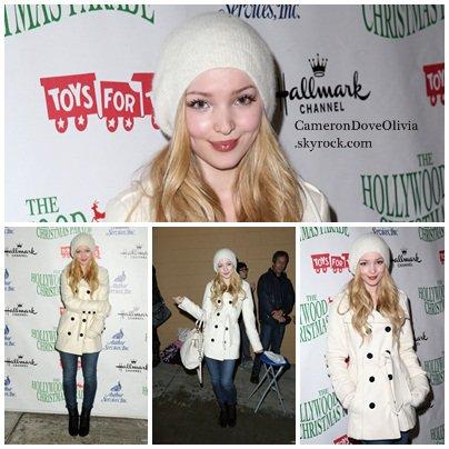 ► Evênement   30/11/2014 Dove était présente à la 83ème parade de noël d'Hollywood.