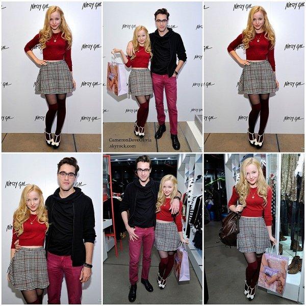 ► Evênement   20/11/2014  Le couple Rove s'est rendu à l'ouverture d'une nouvelle boutique Nasty Gal à Melrose, Los Angeles.
