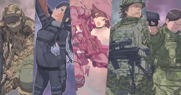 Sword Art Online Alternative- Gun Gale Online!