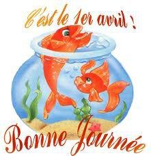Les poissons et blagues sont a l'honneur ...