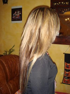 Cheveux naturel balmain