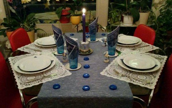 Ma table du Nouvel-an
