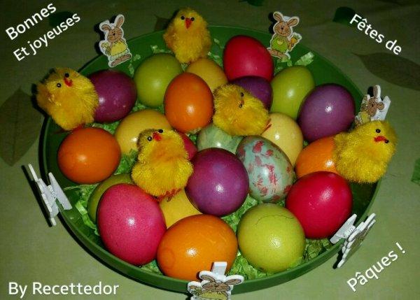 Bonnes et Joyeuses fêtes de Pâques !
