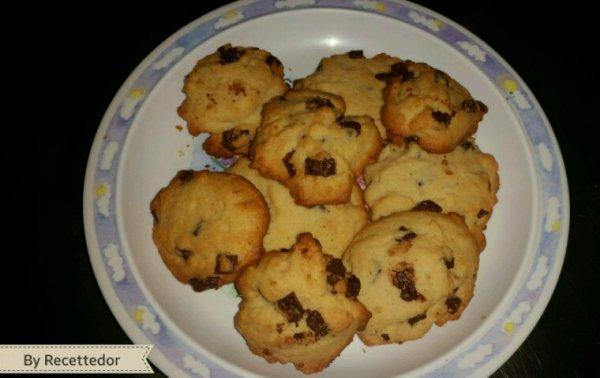 Ma fille nous a fait des cookies