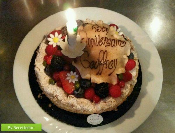 Gâteau pour les 21 ans de mon fils