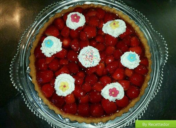 Ma tarte aux fraises pour la fête des mères