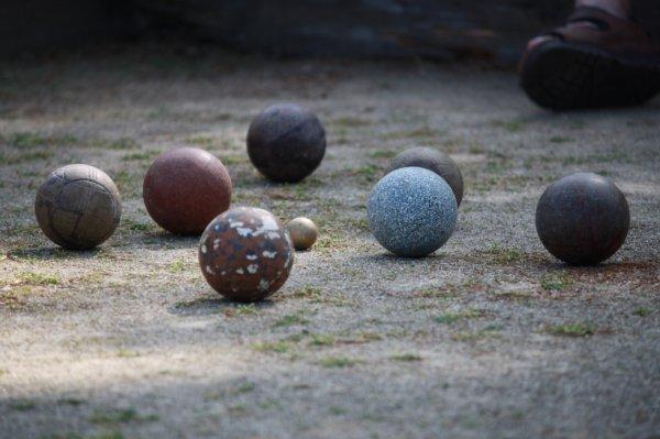 photo d'une partit de boules :)