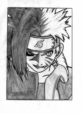 Blog de dessinsmangas56 mes dessins - Naruto kyubi dessin ...
