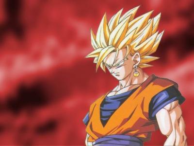 Sangoku super sayen 2 voici les personnages de dragon ball z - Sangoku super sayen 2 ...