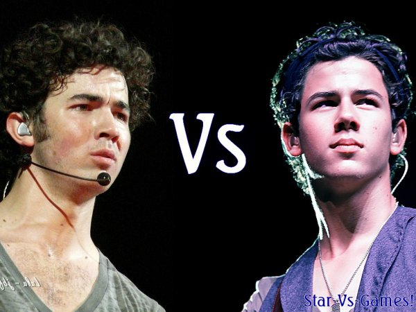 Nick Jonas Vs Kevin Jonas