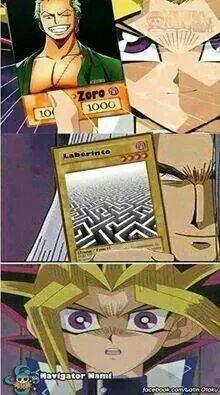 Et on ne revit plus jamais Zoro..