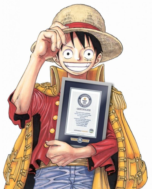 One Piece dans le Guiness des records