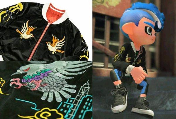 Le jeu vidéo iconic de Nintendo Splatoon se lance dans la mode voici le lien  https://editmode.shop-pro.jp/?pid=135316219