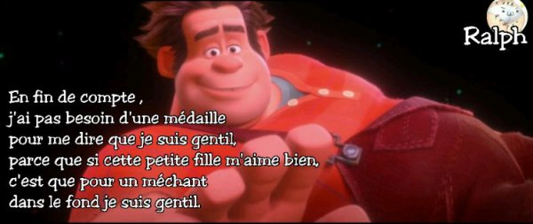 Citation les mondes de Ralph