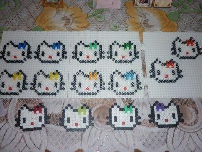 Mimi hello kitty pour offrir aux petites filles pour la ste catherine 1 blog de mamypapou - Hello kitty et mimi ...