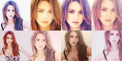 Model : Jessica Alba