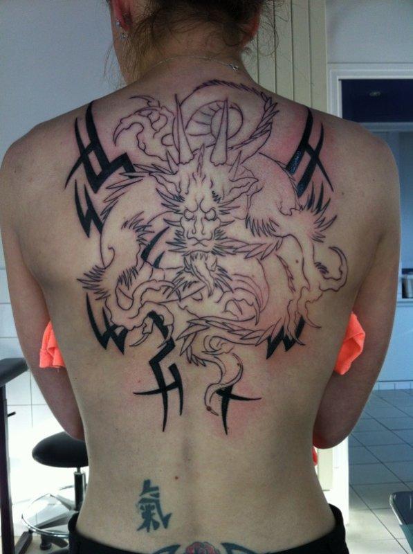 Mon tatoo 1ère séance