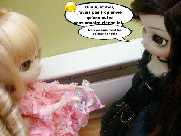 Photostory de l'arrivé de Louanne (4)