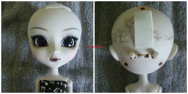Tutoriel : Comment mettre des eyelashes à notre pullip ?