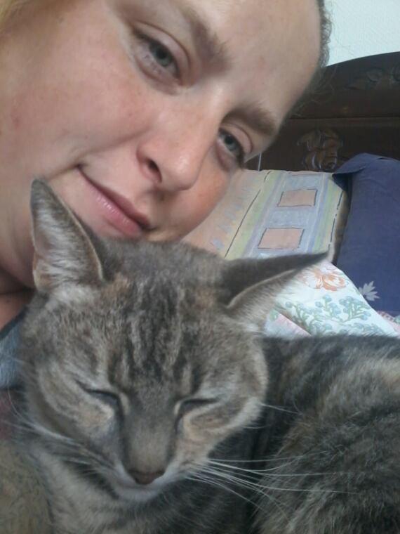 Moi et mon chat princesse