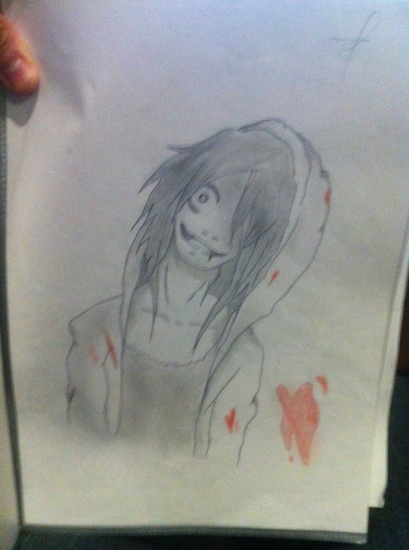 1er Dessin : Jeff The Killer