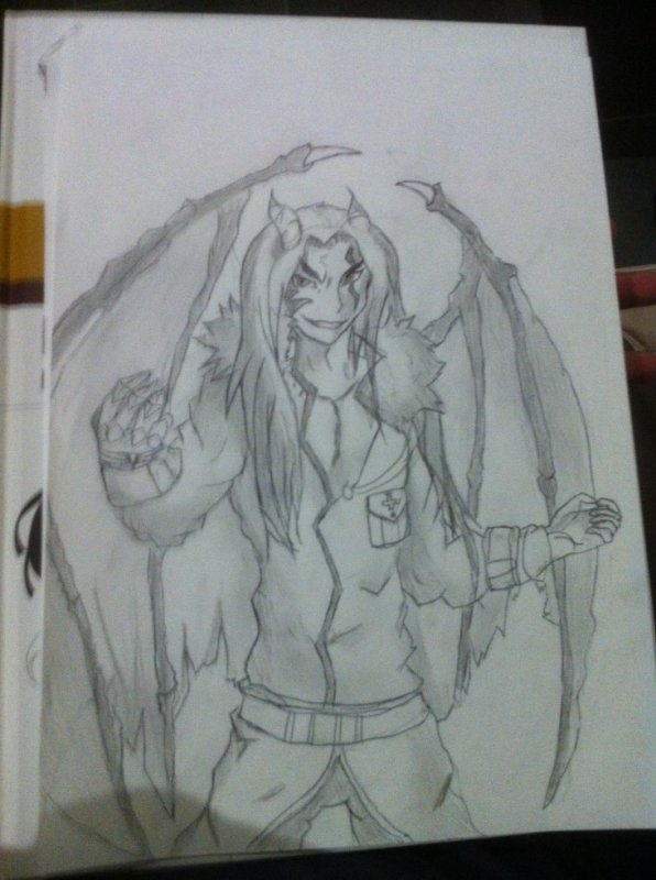 6em Dessin : Demon De L'apocalypse