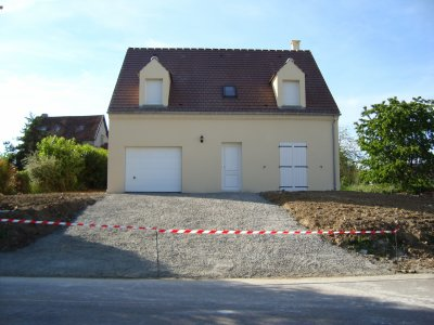 Terrassement + Rampe Du0027accès Au Garage
