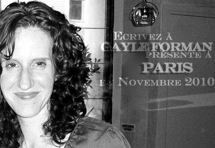 """Réalisation d'un """"fanbook"""" à l'occasion de la venue de Gayle à Paris en novembre 2010."""