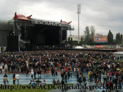 AC/DC Live Nice 15 Juin 2010 Tribune