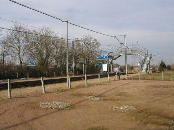 Gare de Moult en 2003