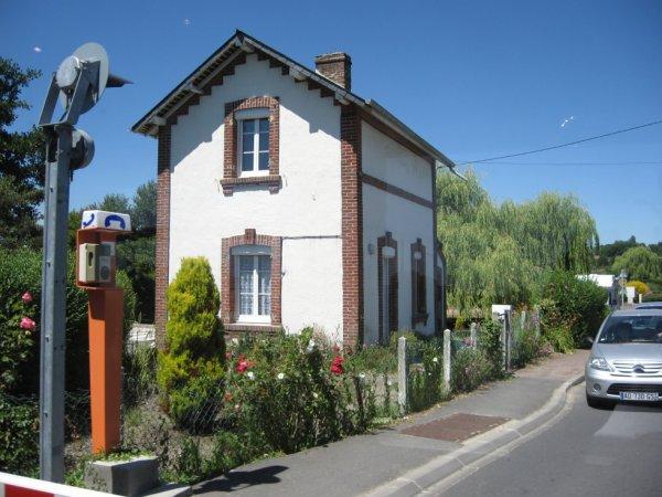 Maison de garde Passage à Niveau à Blonville-Bénerville
