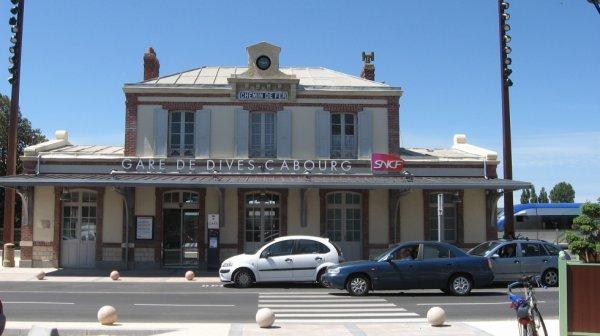 Gare de Dives Cabourg en 2010