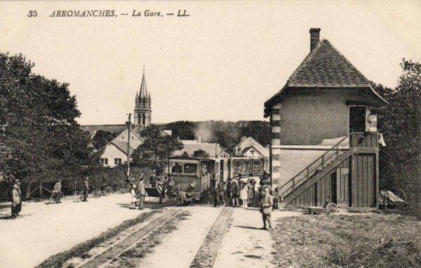 Ancienne Gare d'Arromanches