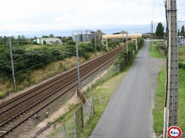 Frénouville - Voies vers Caen