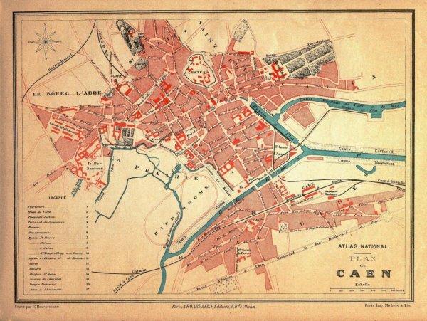 Caen en 1890