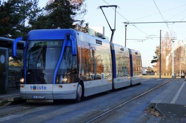 Ancien Tramway sur Pneumatiques de Caen