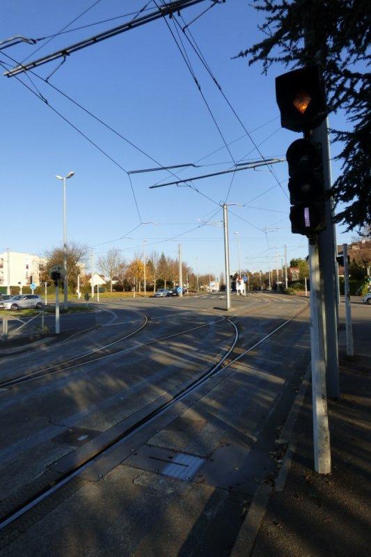 Aiguillage et signalisation du tram de Caen